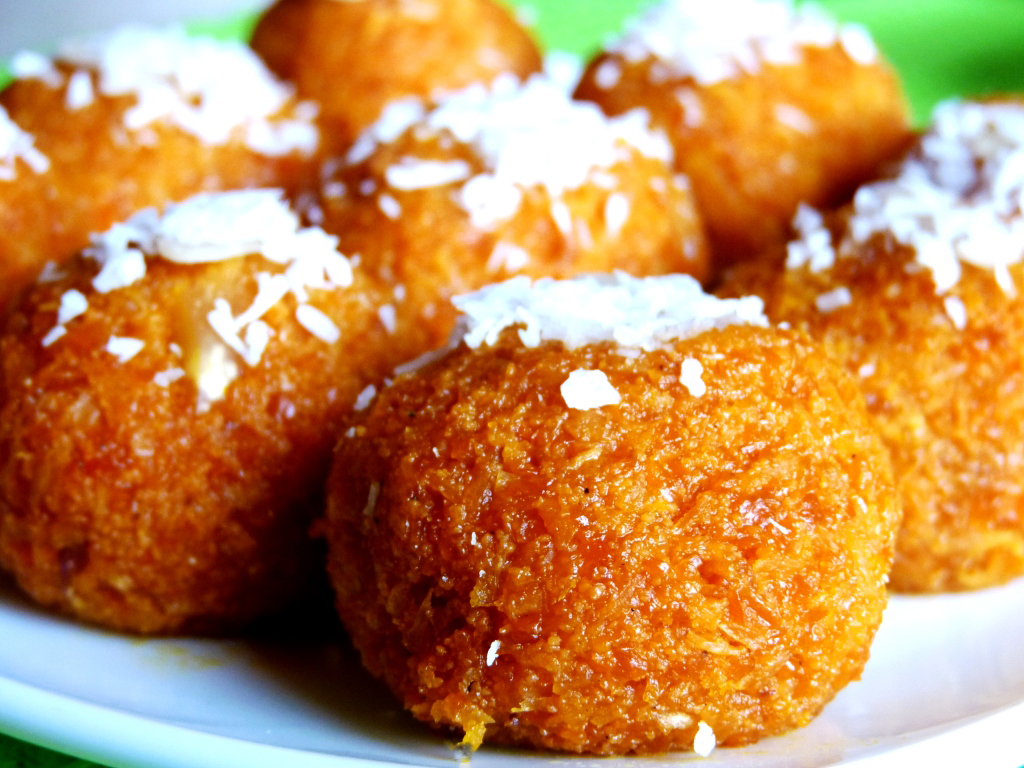 Carrot Laddu recipe