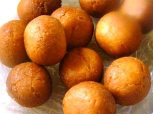 Home made gulab jamun with milk Powder