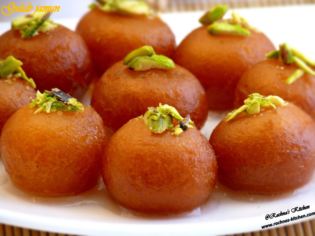 Gulab Jamun Recipe With Milk Powder (With Video)