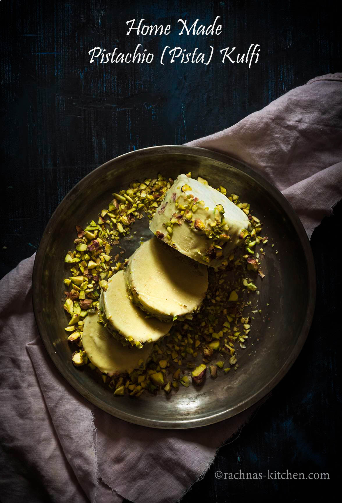 pista kulfi recipe