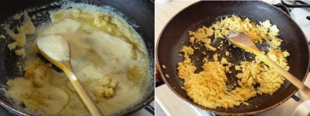 how to prepare kesari halwa you tube