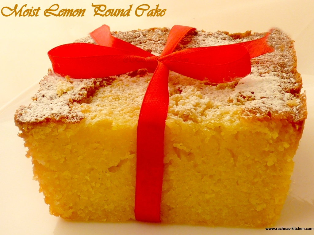 Moist Lemon Syrup Cake Recipe