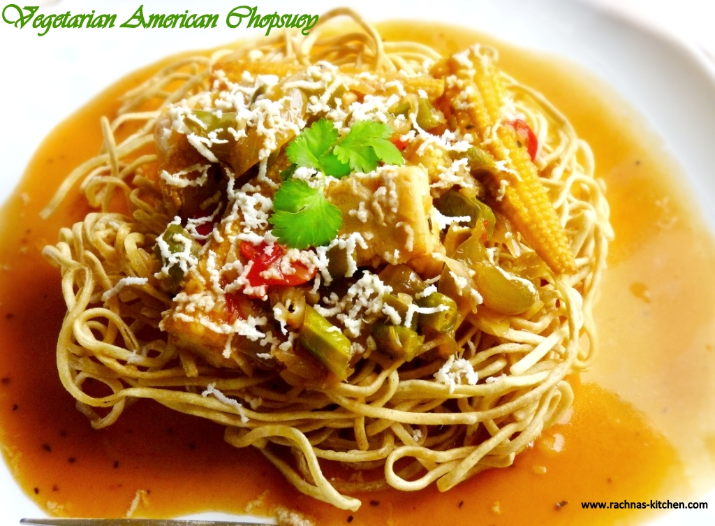 Vegetable American Chop Suey