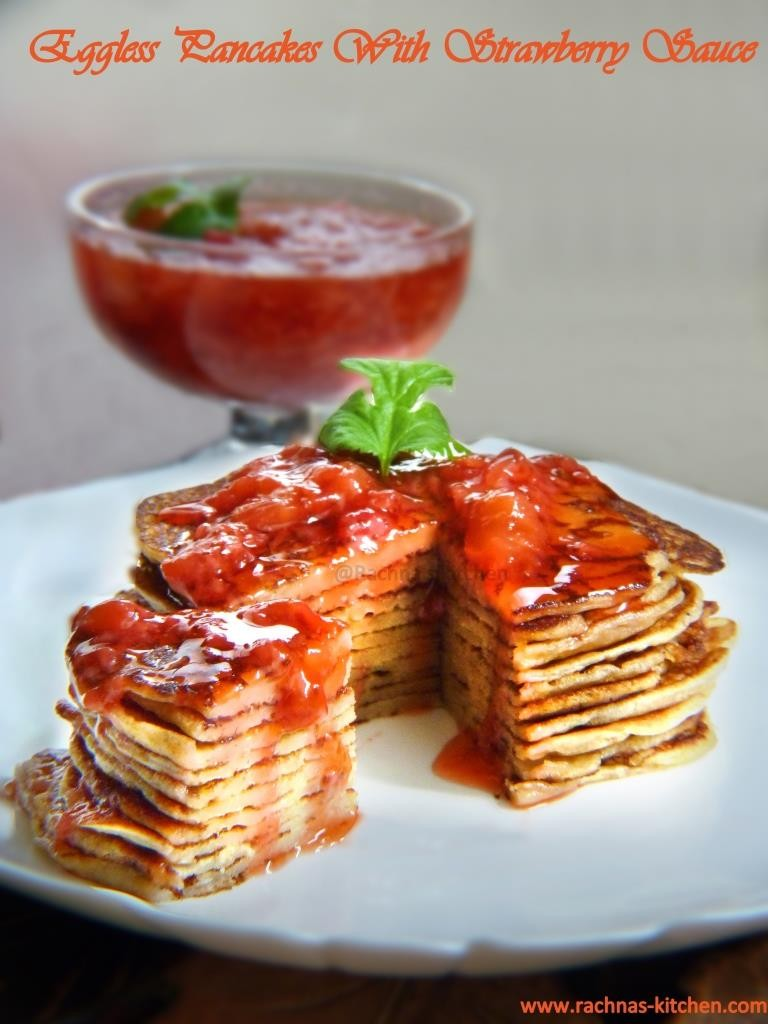 Strawberry pancake recipe