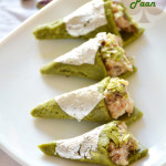 How to make pistachio paan