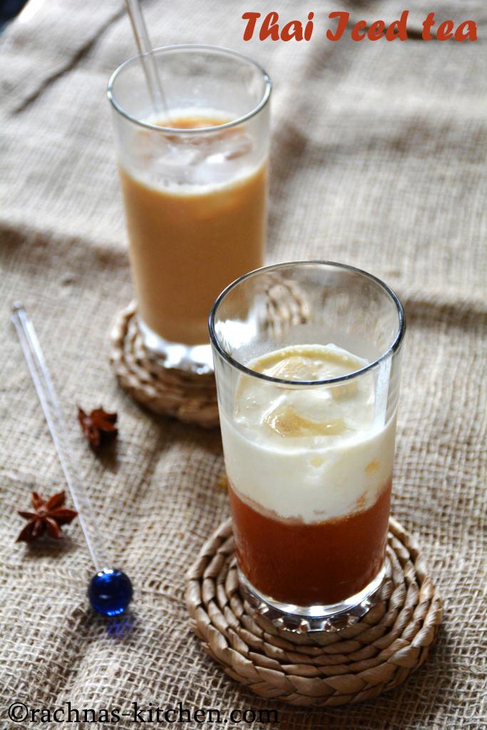 restaurant style thai iced tea