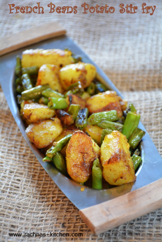 How to make aloo beans recipe