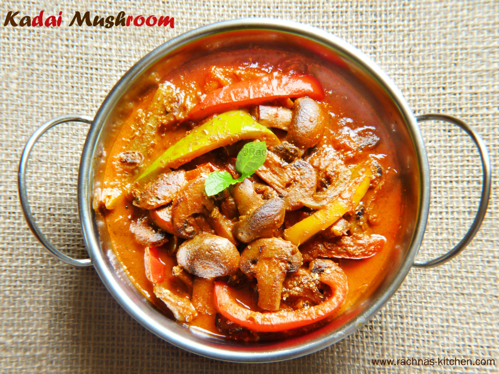 how to make kadai mushroom