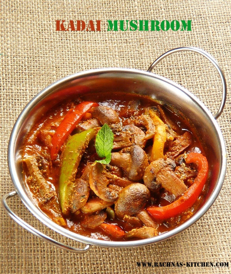 How to prepare kadai mushro