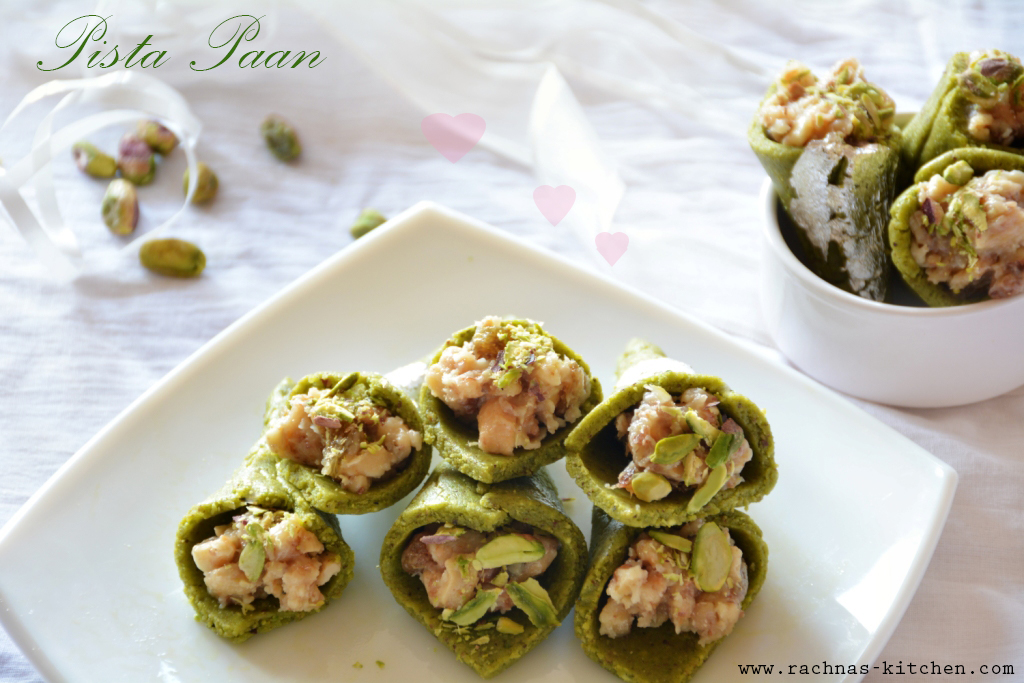 How to make pista paan