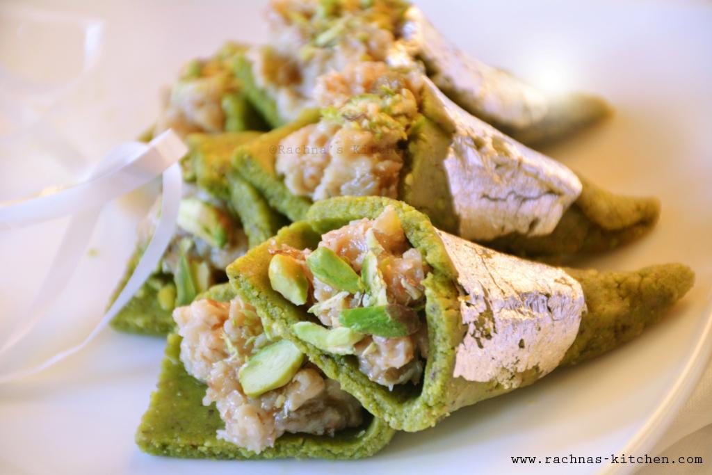 How to make pistachio paan mithai
