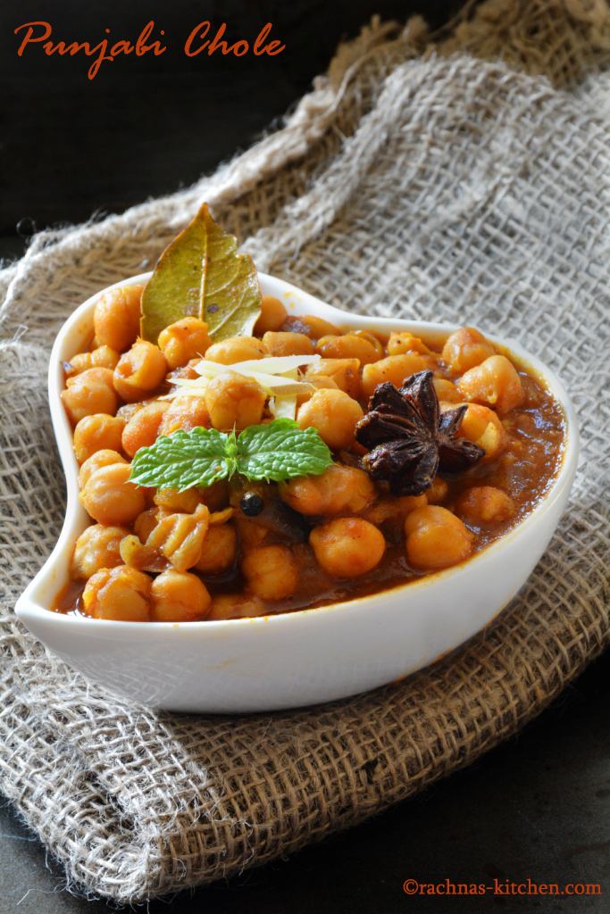 how to make chana masala