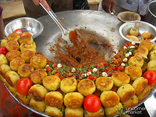 street style chaat stall