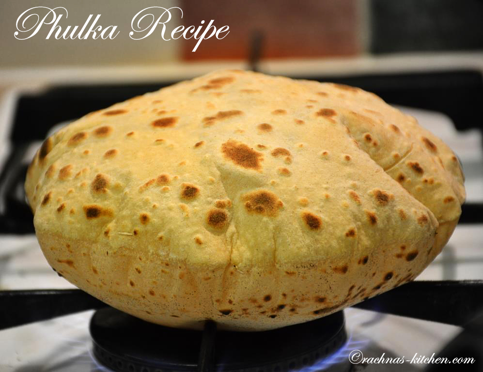 Phulka recipe how to make roti or phulka video recipe forumfinder Image collections