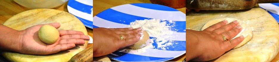 chapati step 4