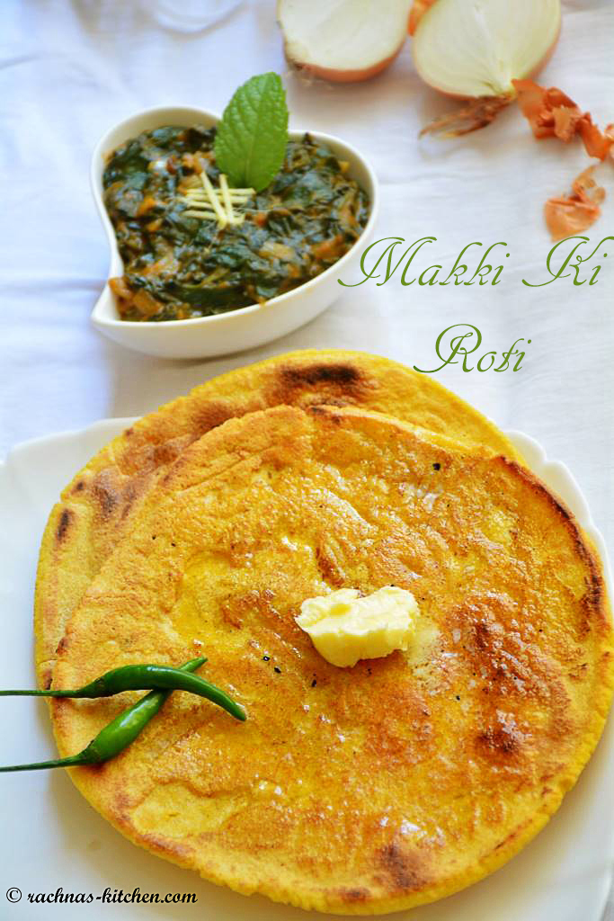 Makki ki roti, How to make makki ki roti | Makki di roti (Video Recipe)