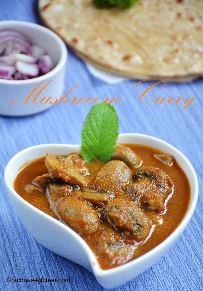 Mushroom masala recipe| How to make mushroom curry
