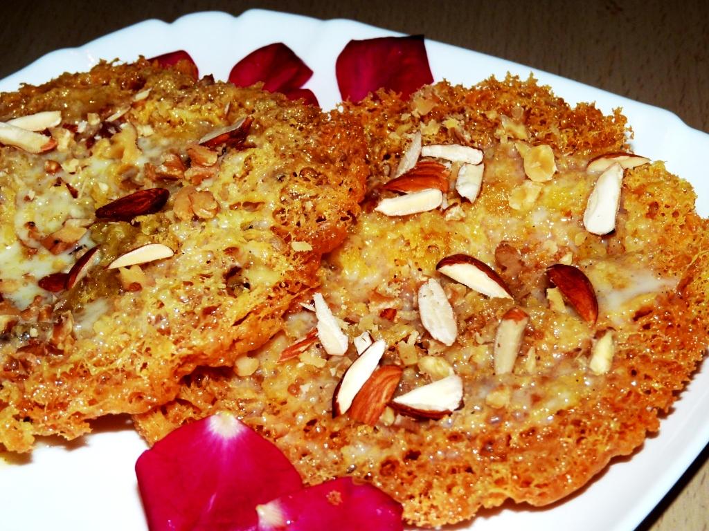 Ghevar recipe for raksha bandhan