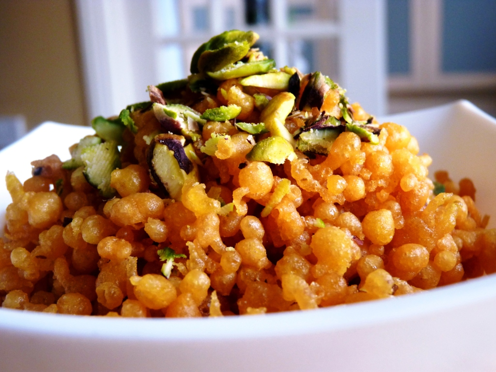 sweet boondi recipe without siever for raksha bandhan