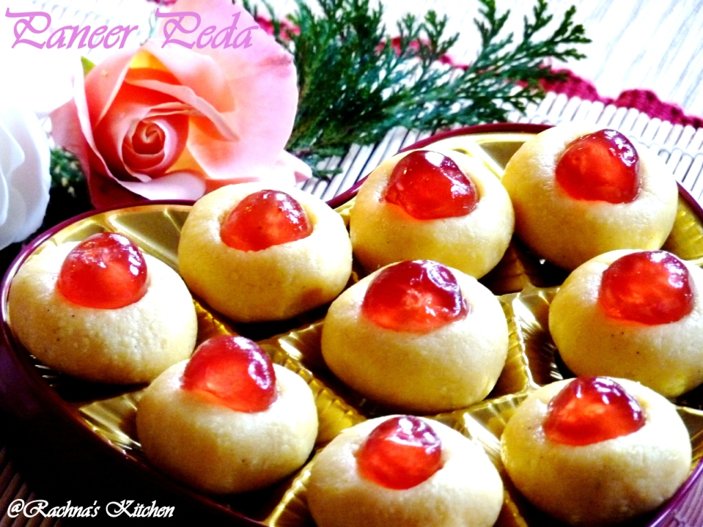 How to make paneer peda in 15 minutes for raksha bandhan