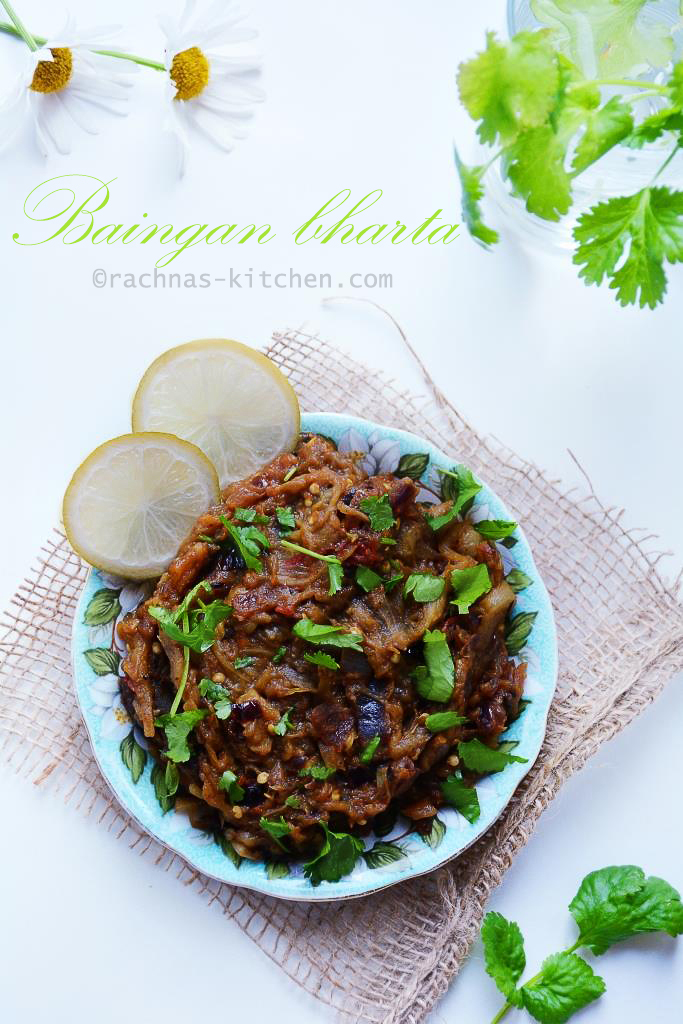How to make baingan bharta, Baingan bharta recipe