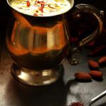 How to make saffron milk