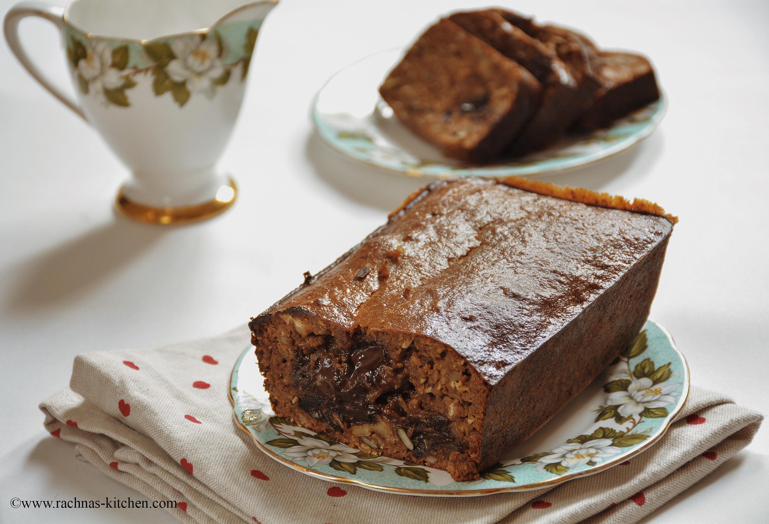 Gluten free eggless high protein cake