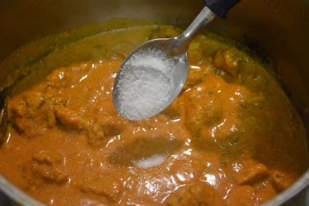 Butter chicken recipe step 21