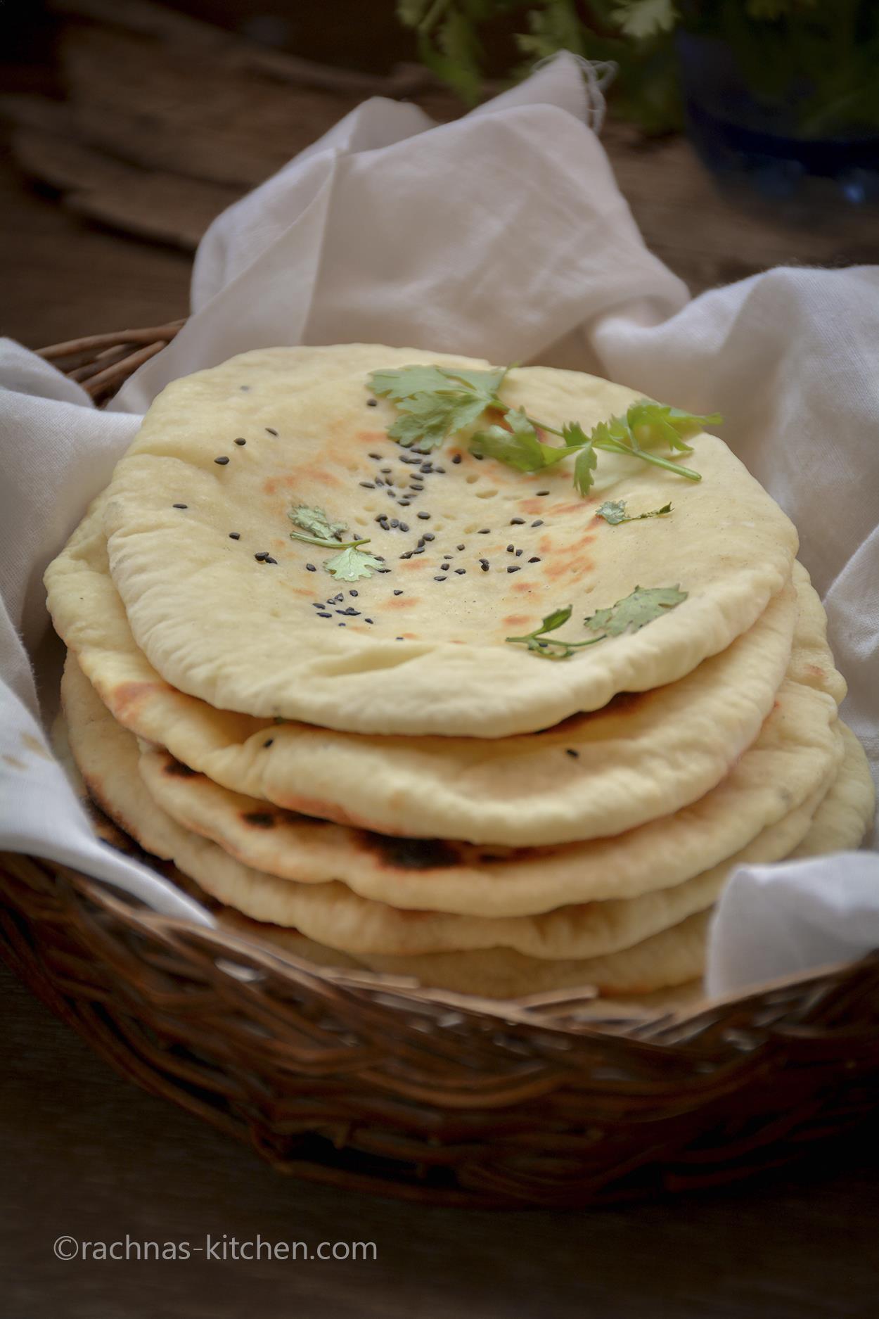 Indian naan recipe