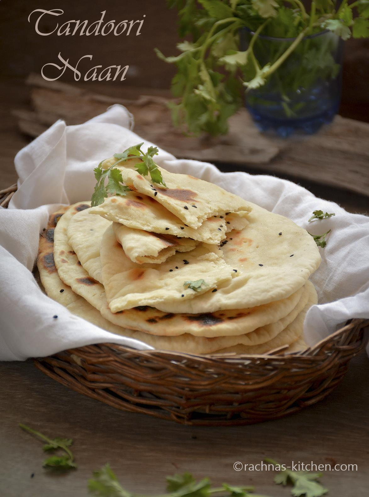 Indian tandoori naan recipe