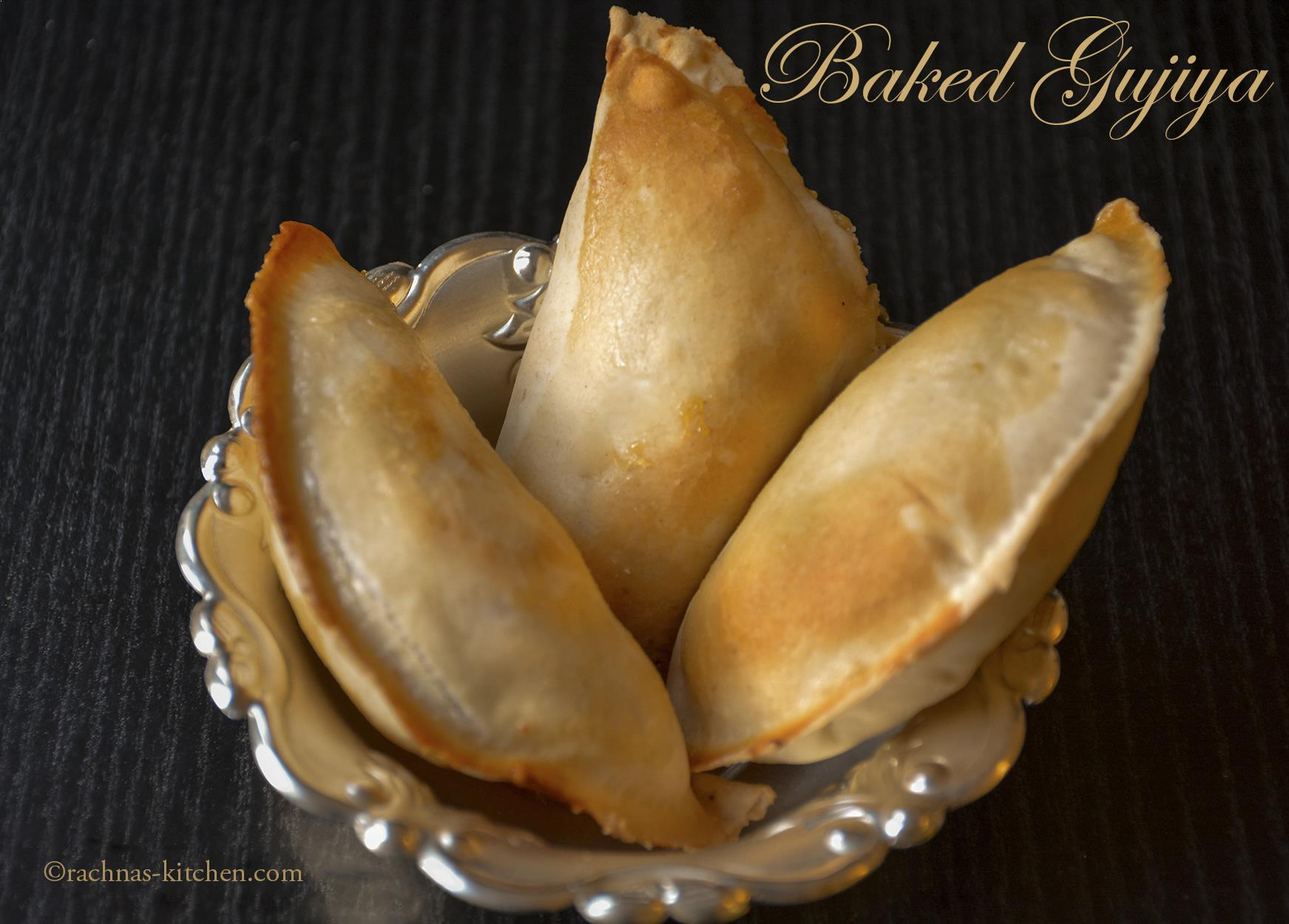 baked gujiya recipe