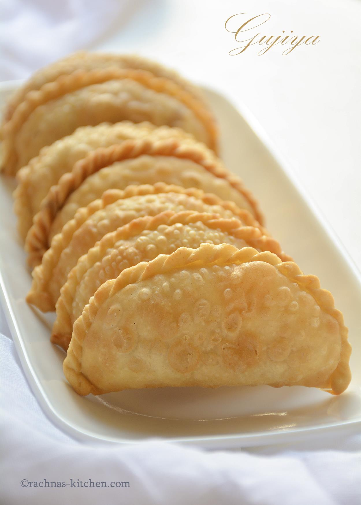 gujiya recipe step by step video