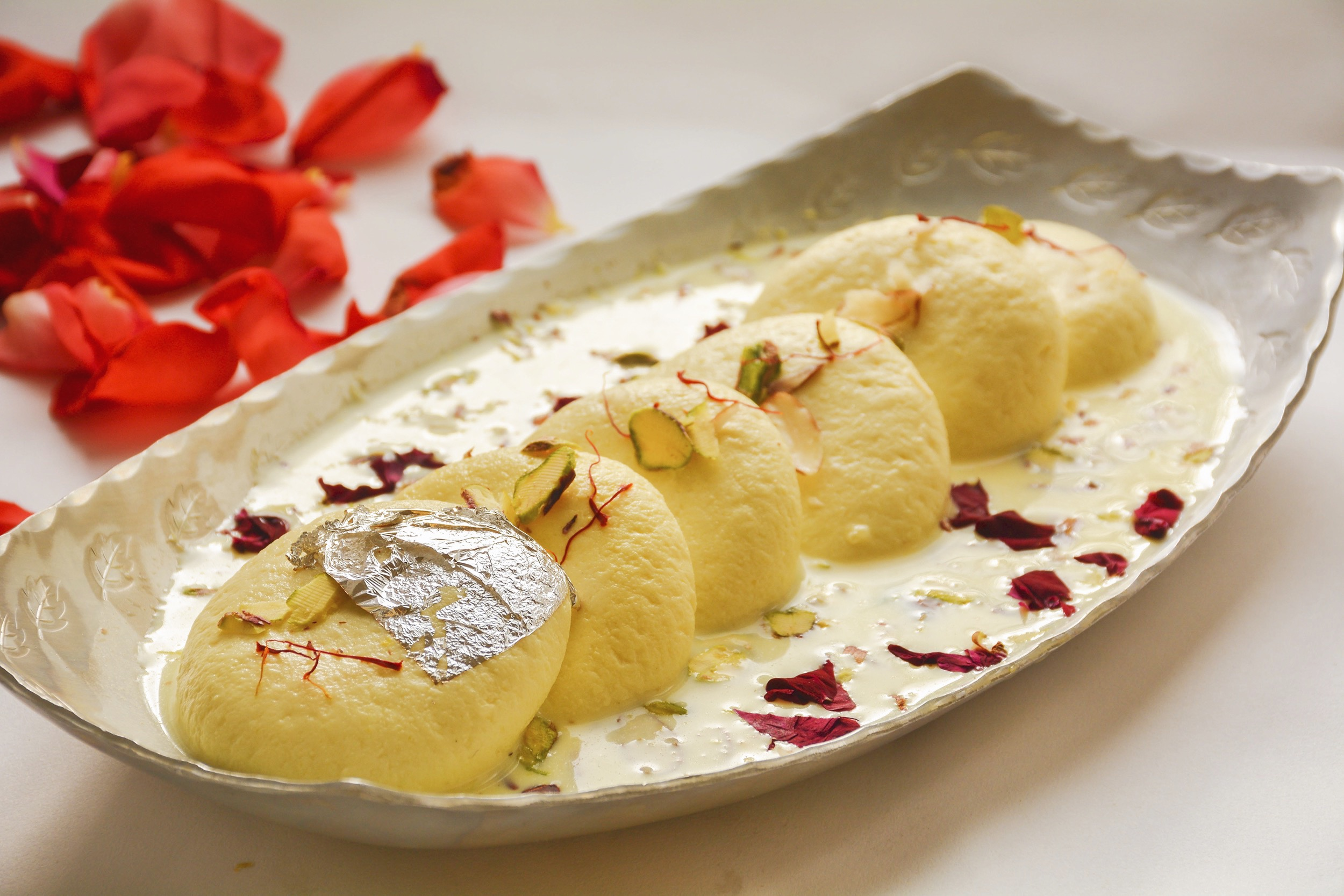 Indian Food Recipes Rasmalai
