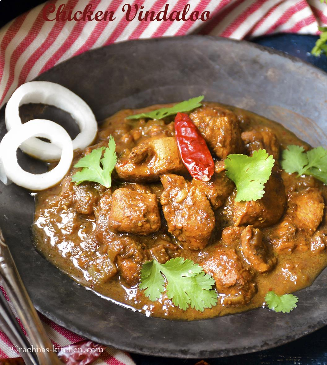 authentic chicken vindaloo recipe