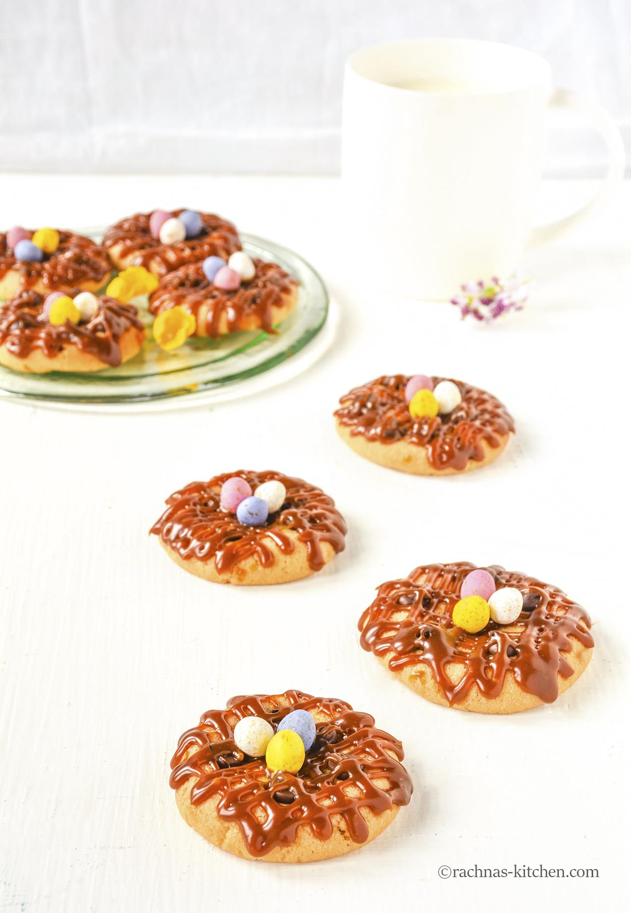 eggless easter cookies