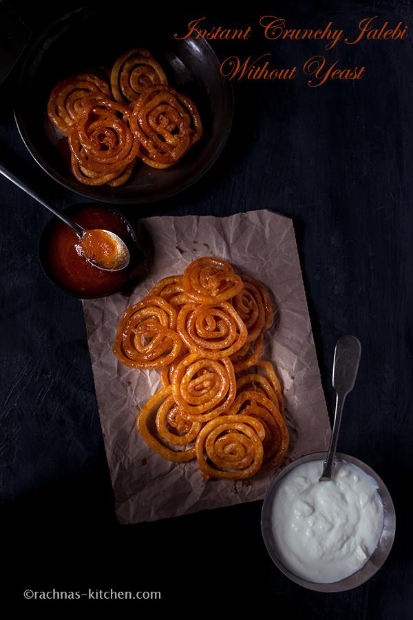 jalebi recipe without yeast