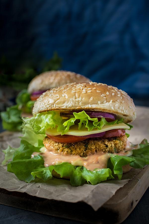 Mc d aloo tikki burger