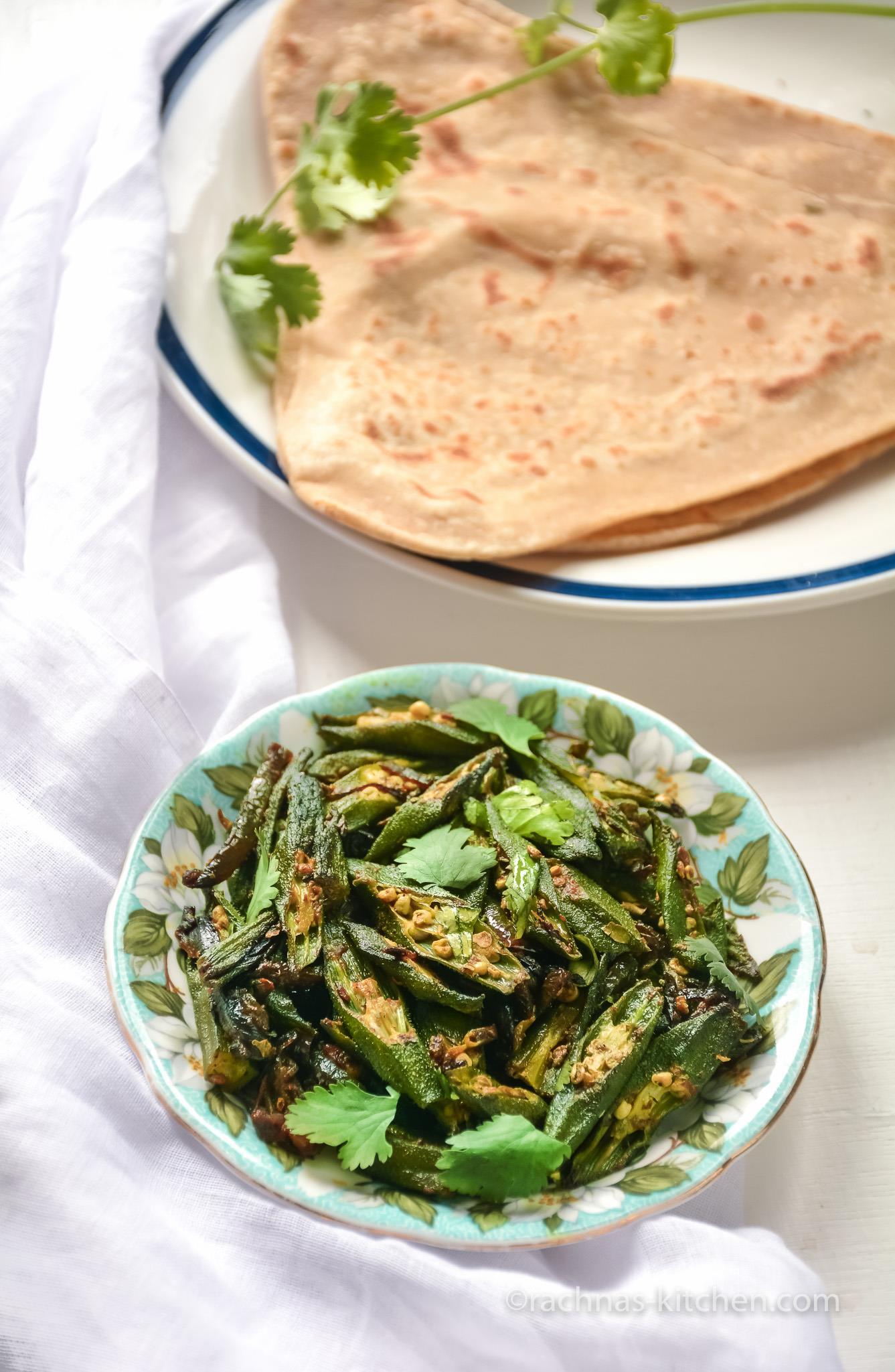 Bhindi fry recipe, How to make bhindi fry | Okra Fry
