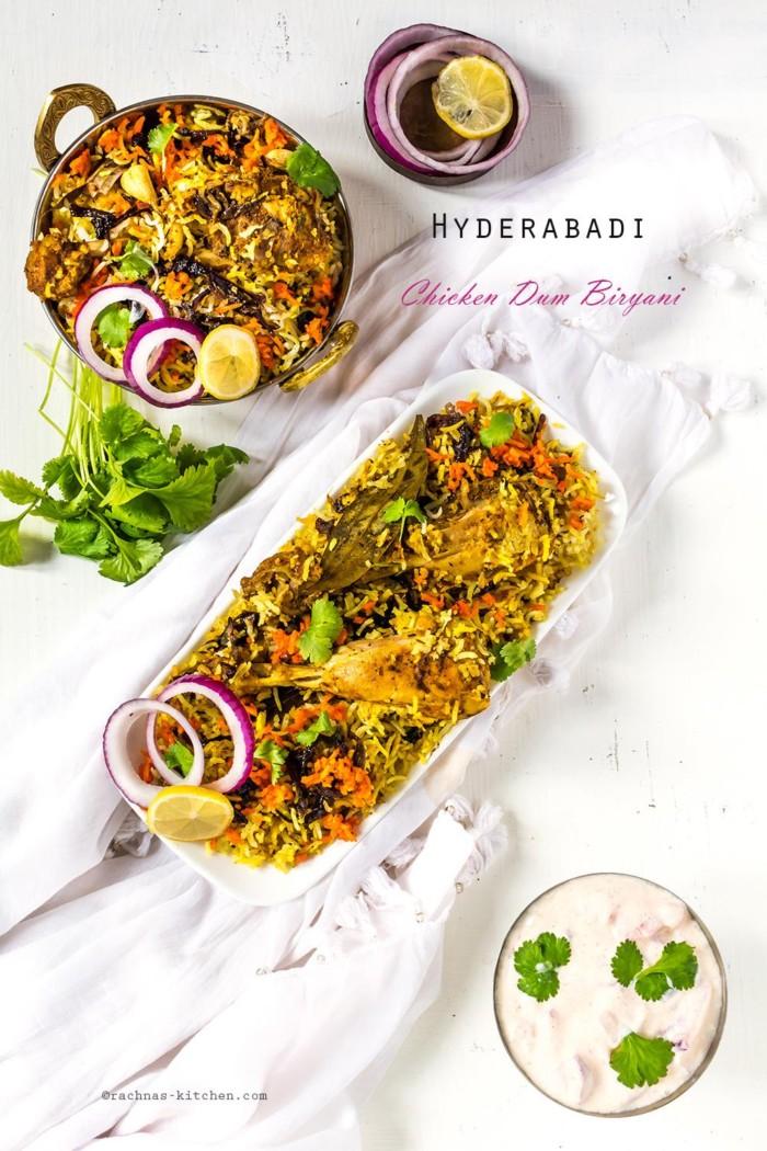 Hyderabadi Chicken Biryani Recipe, Chicken Dum Biryani Recipe