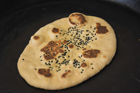 wholewheat naan recipe step 18