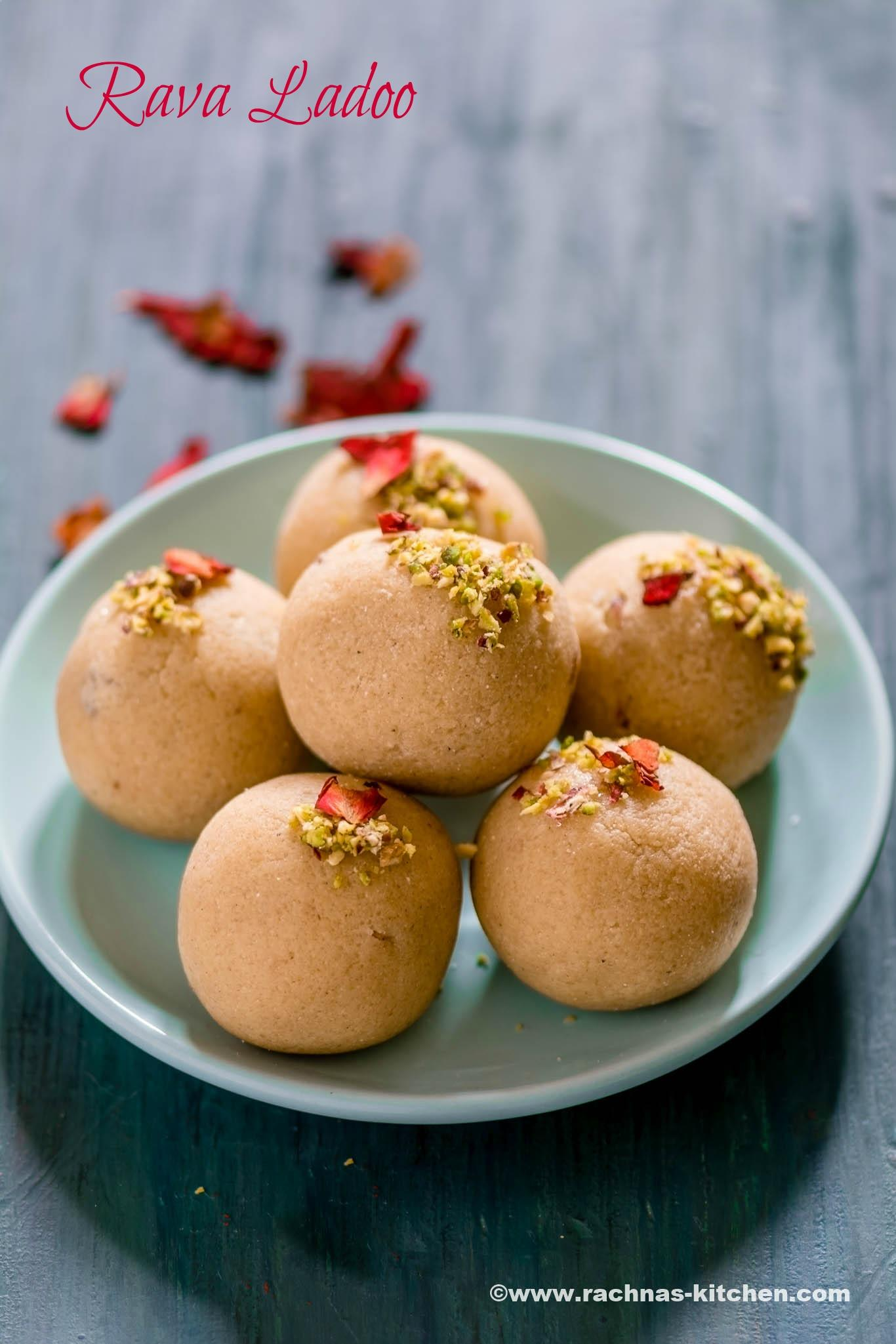 Raksha bandhan recipes Rava ladoo recipe