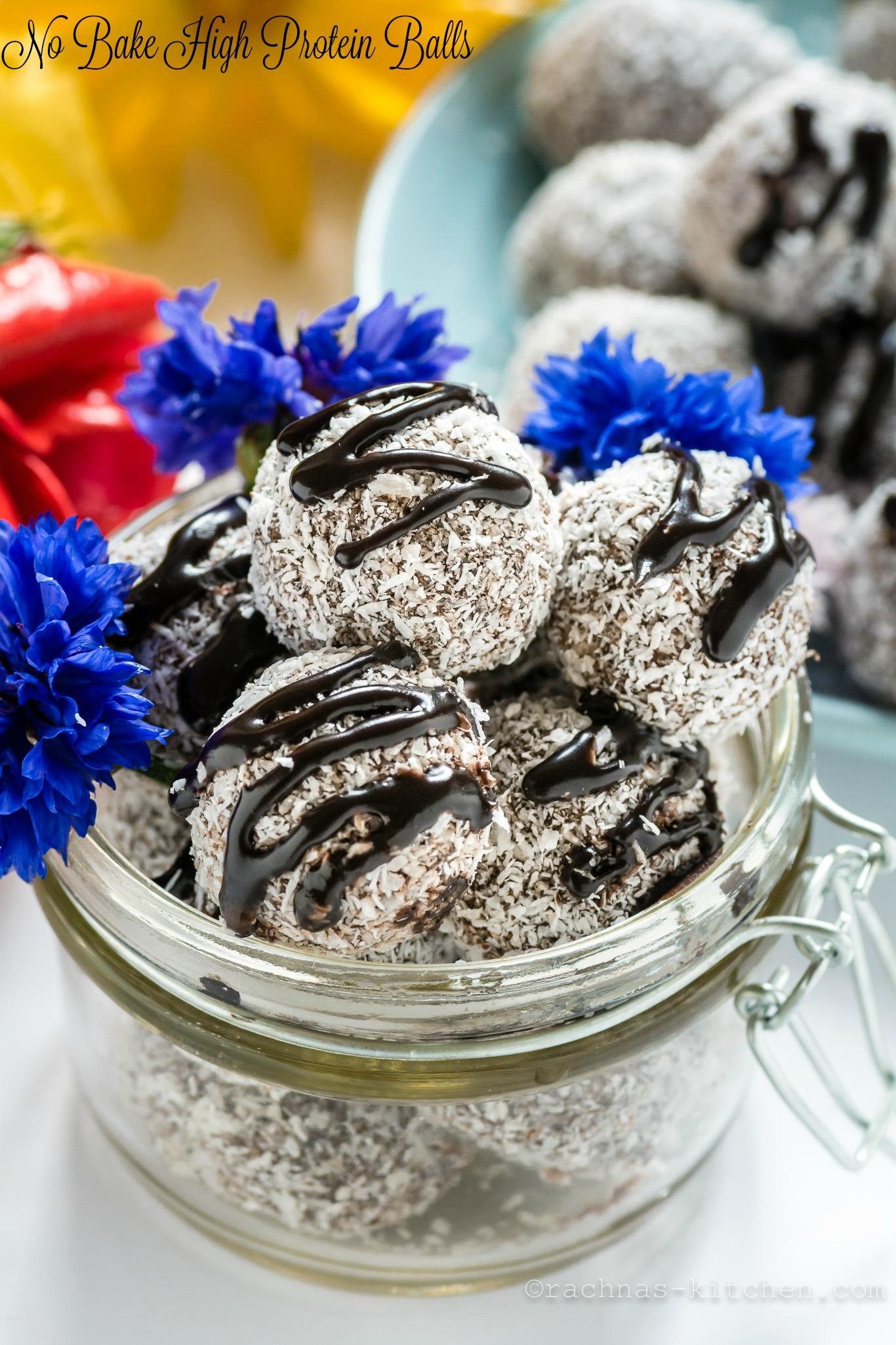 Coconut protein balls No bake