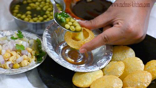 Pani puri recipe, How to make pani puri at home
