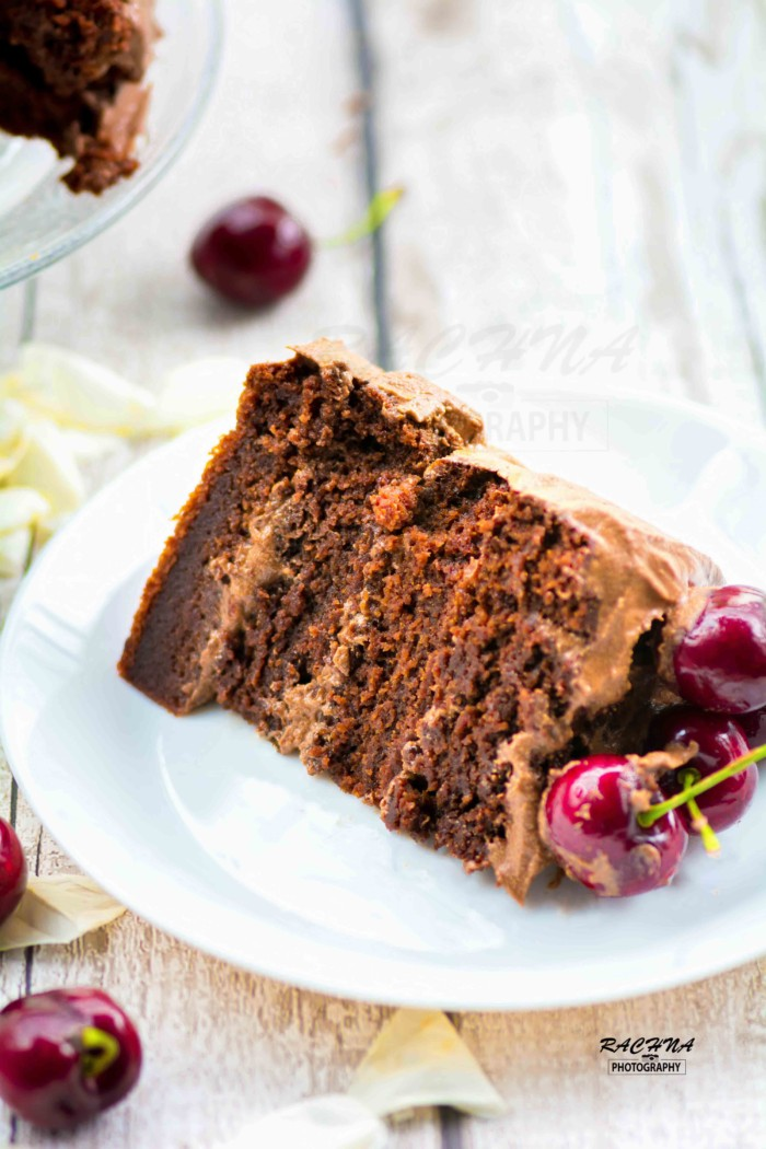 basic eggless chocolate cake recipe