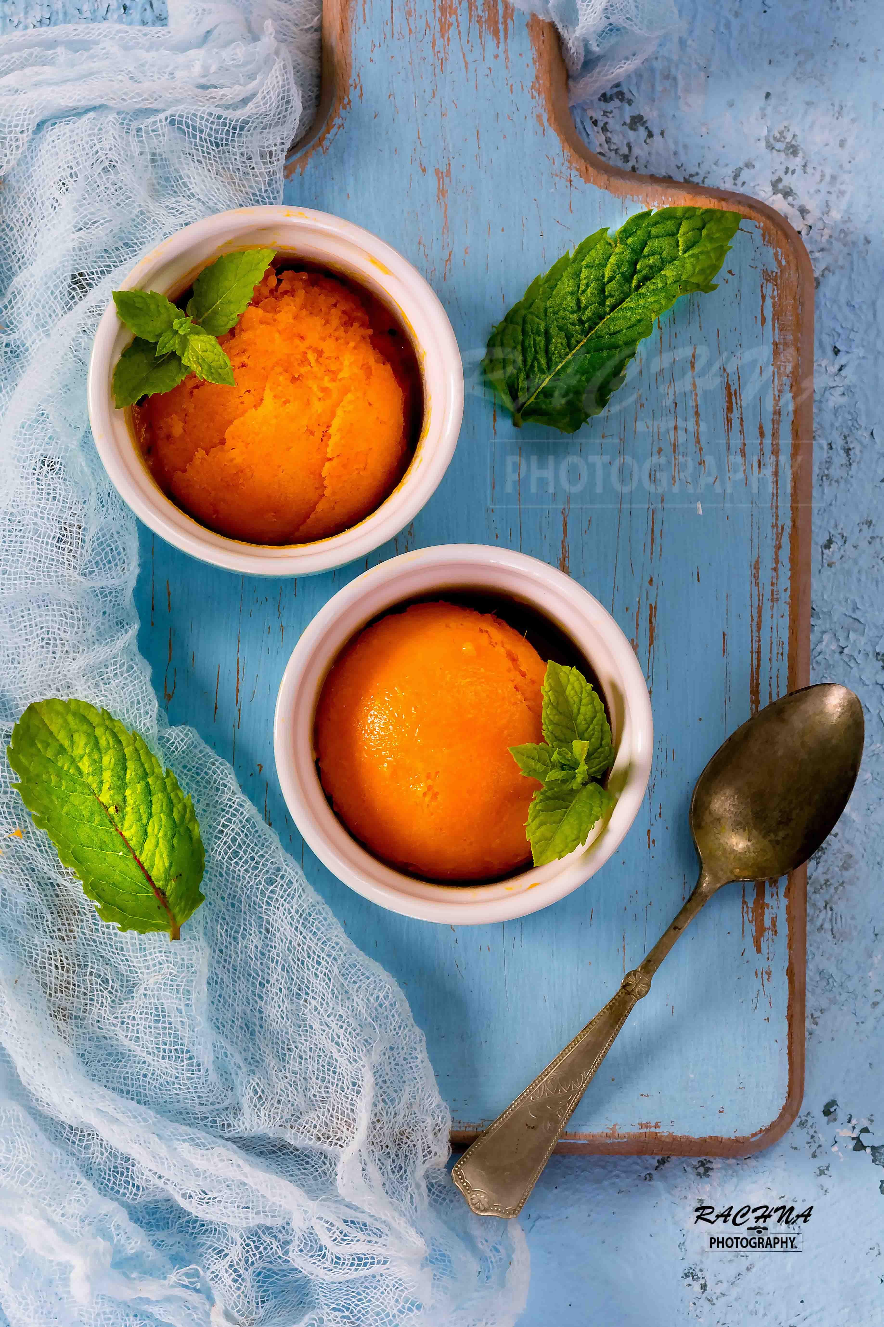 Mango sorbet recipe | Mango sorbet in 30 minutes
