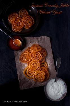 Traditional Jalebi Recipe without Yeast, How to Make Jalebi At Home