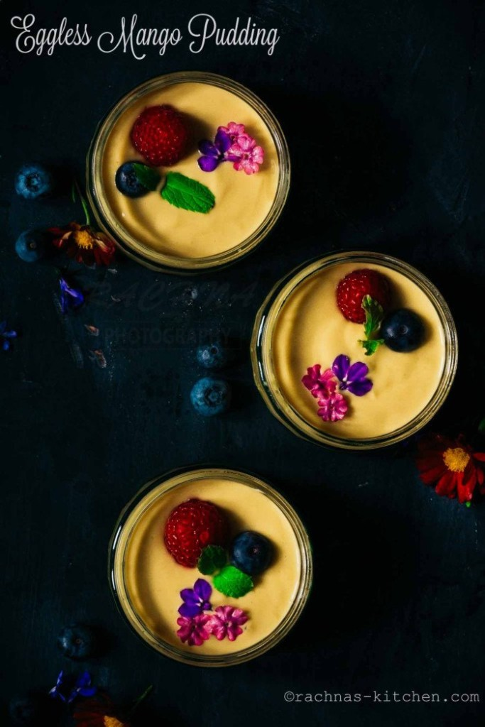 Mango Pudding Indian Recipe