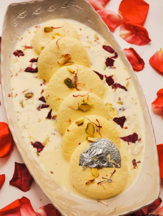 Rasmalai Recipe, How to make best soft Rasmalai at home