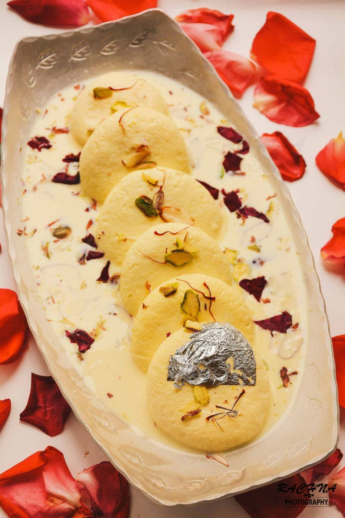 Rasmalai Recipe How To Make Best Soft Rasmalai At Home