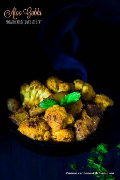 Gobi Fry Recipe, How To Make Aloo Gobi Dry Recipe